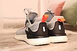 Чоловічі світло-сірі кросівки сітка BAAS 41-45, фото 3