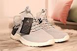 Чоловічі світло-сірі кросівки сітка BAAS 41-45, фото 4
