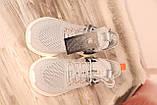 Чоловічі світло-сірі кросівки сітка BAAS 41-45, фото 6