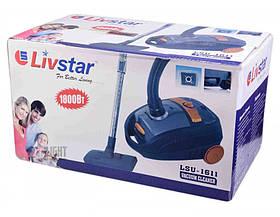 Мешковый Пылесос Livstar LSU 1611 для Сухой Уборки 1800 Ватт