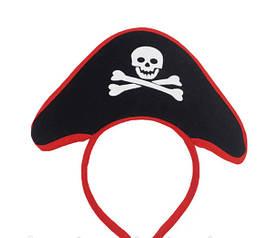 Карнавальный Ободок Пиратская Шляпа Прикол Для Вечеринки Маскарад