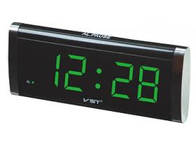 Часы настольные Vst 730 Led Alarm oclock Зеленые 183655