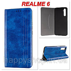 Чохол-книжка Gelius Leather New для Realme 6 (Синій)