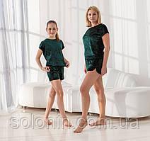 Домашние костюмы для мам и дочек в стиле Family Look.