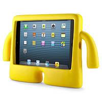 Чехол противоударный детский с ручками iPad Air1/Air2 желтый