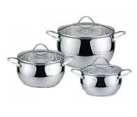 Набор Посуды Набор Кастрюль 6 Предметов Bohmann BH 0612