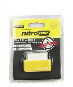 Экономайзер для авто, экономитель топлива Nitro OBD2 бензин Желтый184496