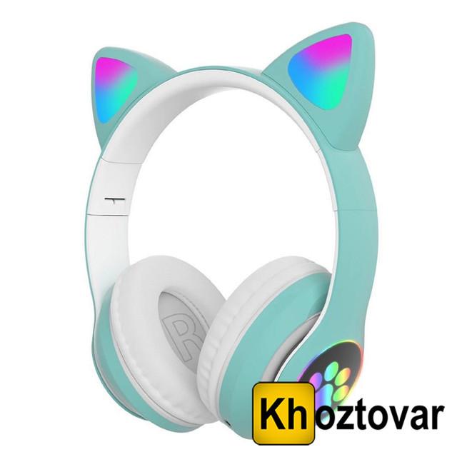 Бездротові навушники VZV-23M Cat Ear   Світяться котячі вушка