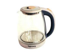 Чайник Стеклянный Электрический С Подсветкой Rainberg RB-902