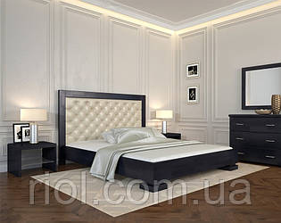 Ліжко дерев'яне двоспальне Подіум