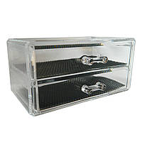 Органайзер с двумя выдвижными ящиками для украшений