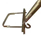 Кронштейн  КС-5 Ф40мм  длина 350мм 45 градусов для квадратных опор, фото 6