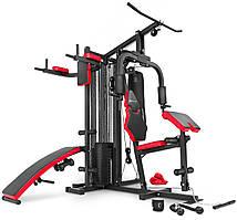Силовая фитнес станция до 120 кг Hop-Sport HS-1054K Мультистанции на все группы мышц
