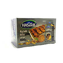 Кофе Haseeb Premium Cardamon 500 грамм + печенье Баразик 150 грамм в подарочной упаковке