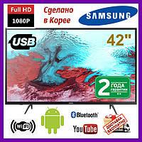Телевизор Samsung 42 Smart Android, 4K LED Самсунг 42 дюйма со смарт ТВ