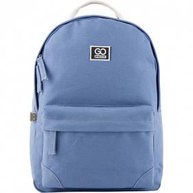 Рюкзак для города GoPack Сity для девочек 460 г 40 х 27.5 х 11 см 14 л Голубой (GO20-147M-2) 4 отзыва
