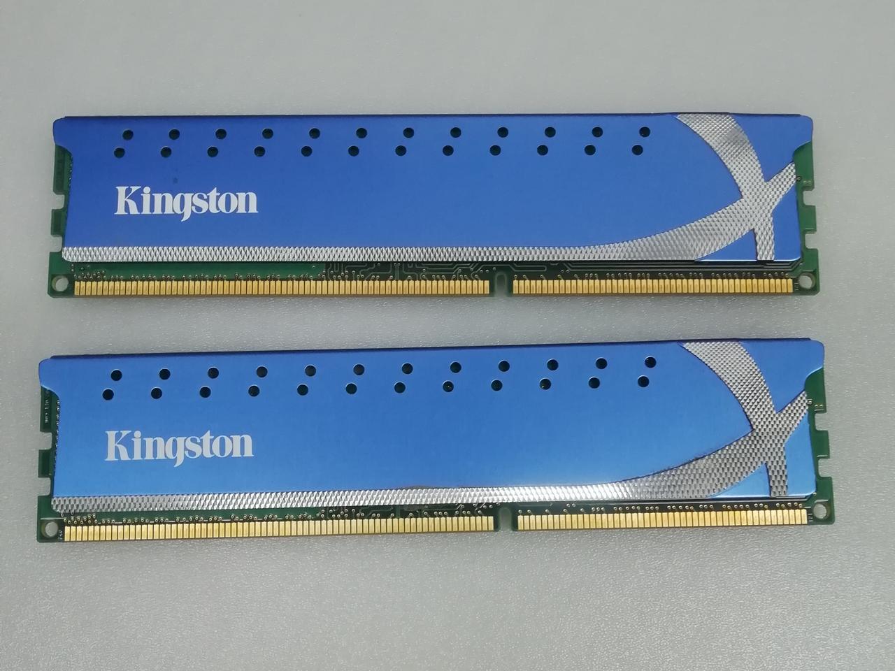 Память для компьютера 4GB(набор из 2*2GB) DDR3-1600 Kingston KHX1600C9D3K2/4GX