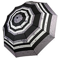 "Женский зонтик-полуавтомат ""Nature"" на 10 спиц, от SL, серый, 477-2"