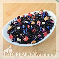 Чай чорний Чорниця в йогурті 100 грам, фото 1