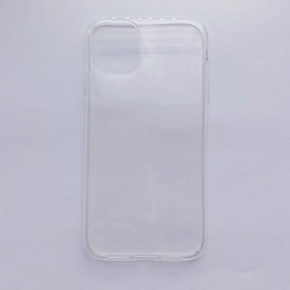 Чехол-накладка Silicone Case для Apple iPhone 11 прозрачный
