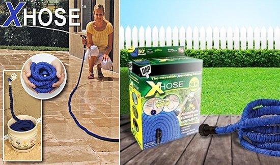 Шланг садовый для полива с распылителем X-HOSE - 75м, фото 6
