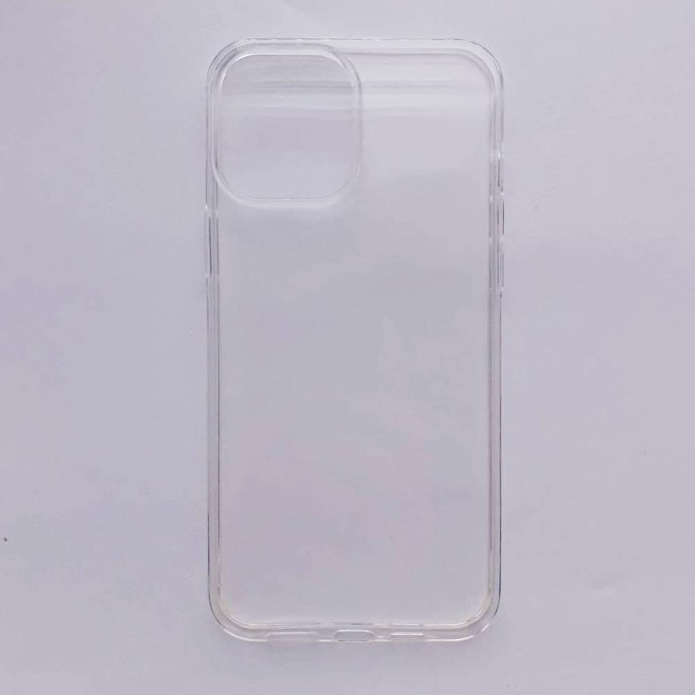 Чехол-накладка Silicone Case для Apple iPhone 12 Pro Max прозрачный