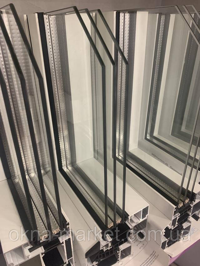 Алюмінієві вікна у віконній компанії ВІКНА МАРКЕТ
