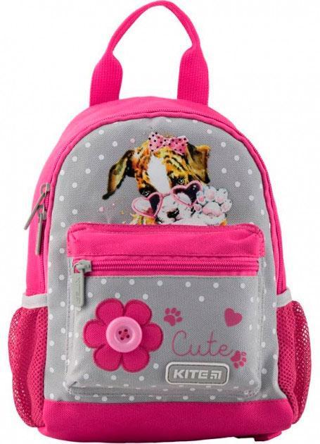 Рюкзак детский Kite Kids 534XXS-2 25×19,5×9,5 см 4,25 л розовый с серым (K19-534XXS-2)