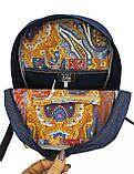 Джинсовий рюкзак Дуб, фото 4