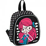 Рюкзак дошкольный Kite Kids 538-2 Pretty girl для девочек 3,25л 125гр (K20-538XXS-2), фото 2