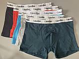 Мужские трусы боксеры в фирменной подарочной упаковке 5 шт. Трусы транки боксеры шорты  мужские 3, фото 4