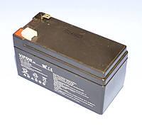 Аккумулятор гелевый Vipow 12V  1.3Ah  BAT0213