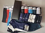 Мужские трусы боксеры и носки (5 шт.) + носки (9 пар).(в подарочных коробках. Трусы транки боксеры шорты 1, фото 7