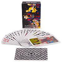 Игральные карты с ламинированным покрытием Футбол IG-2022 (колода в 54 листа, 270гр)
