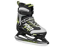 Коньки  Rollerblade Comet Ice 2017 (черно-зеленые)