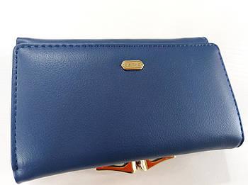 Жіночий гаманець Balisa C7601 синій Жіночий гаманець з штучної шкіри закривається на магніт