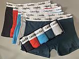 Трусы мужские боксеры Calvin Klein 5 шт набор без подарочной упаковки трусы мужские труси боксери 2, фото 4