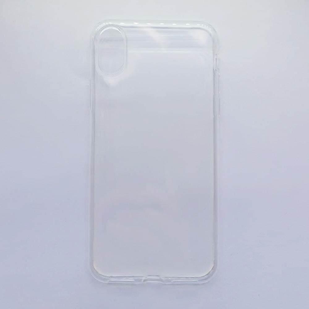 Чехол-накладка Silicone Case для Apple iPhone Х iPhone XS прозрачный