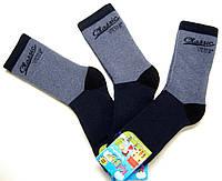 Мальчиковые теплые носки с махрой внутри
