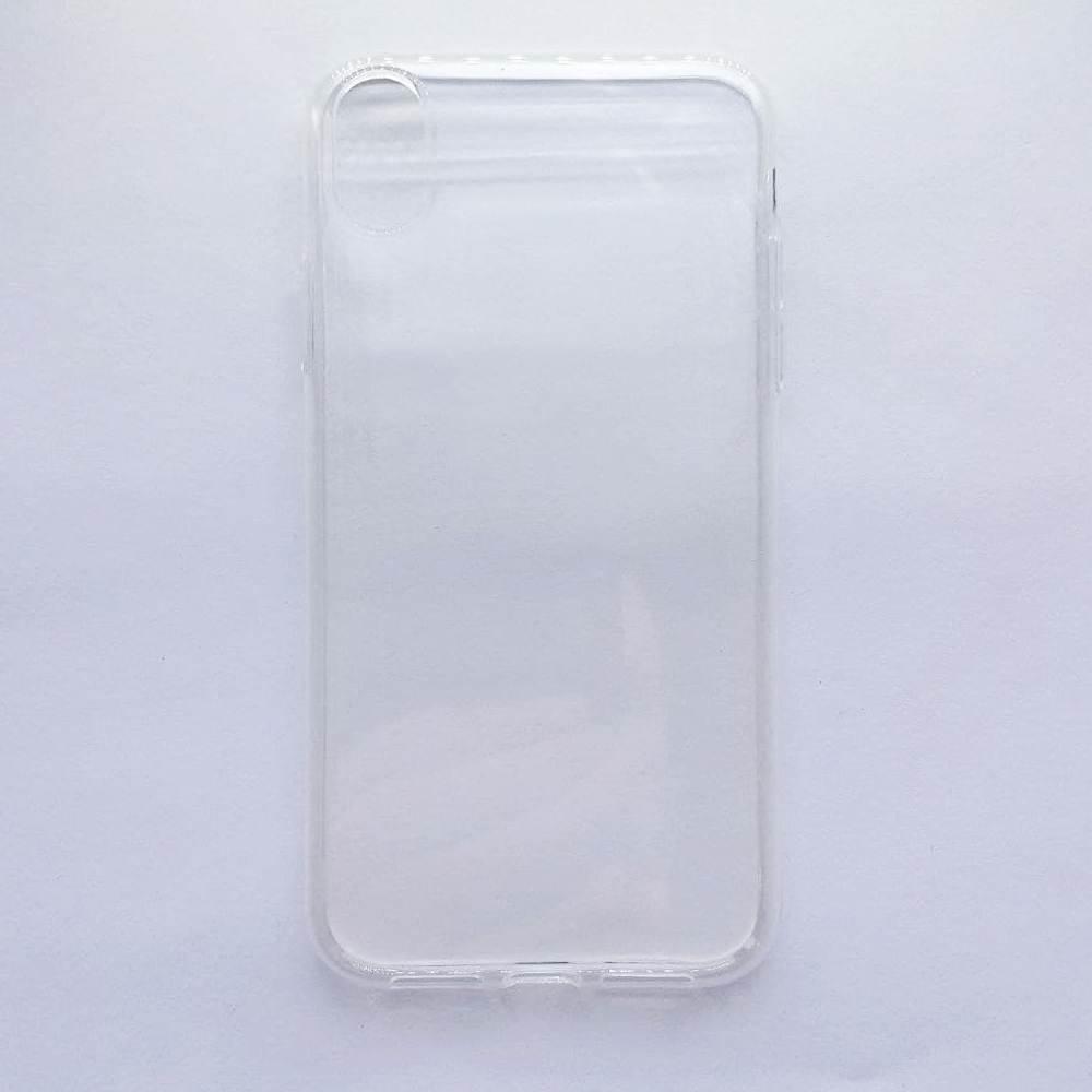 Чехол-накладка Silicone Case для Apple iPhone Xr прозрачный