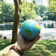Гиро-глобус Solar Globe «Физическая карта мира» Ø 21,6 см (вращается от любого источника света), фото 3