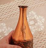 Старий колекційний мідний глечик, мідь, латунь, Німеччина, вінтаж, 350 мл, фото 8