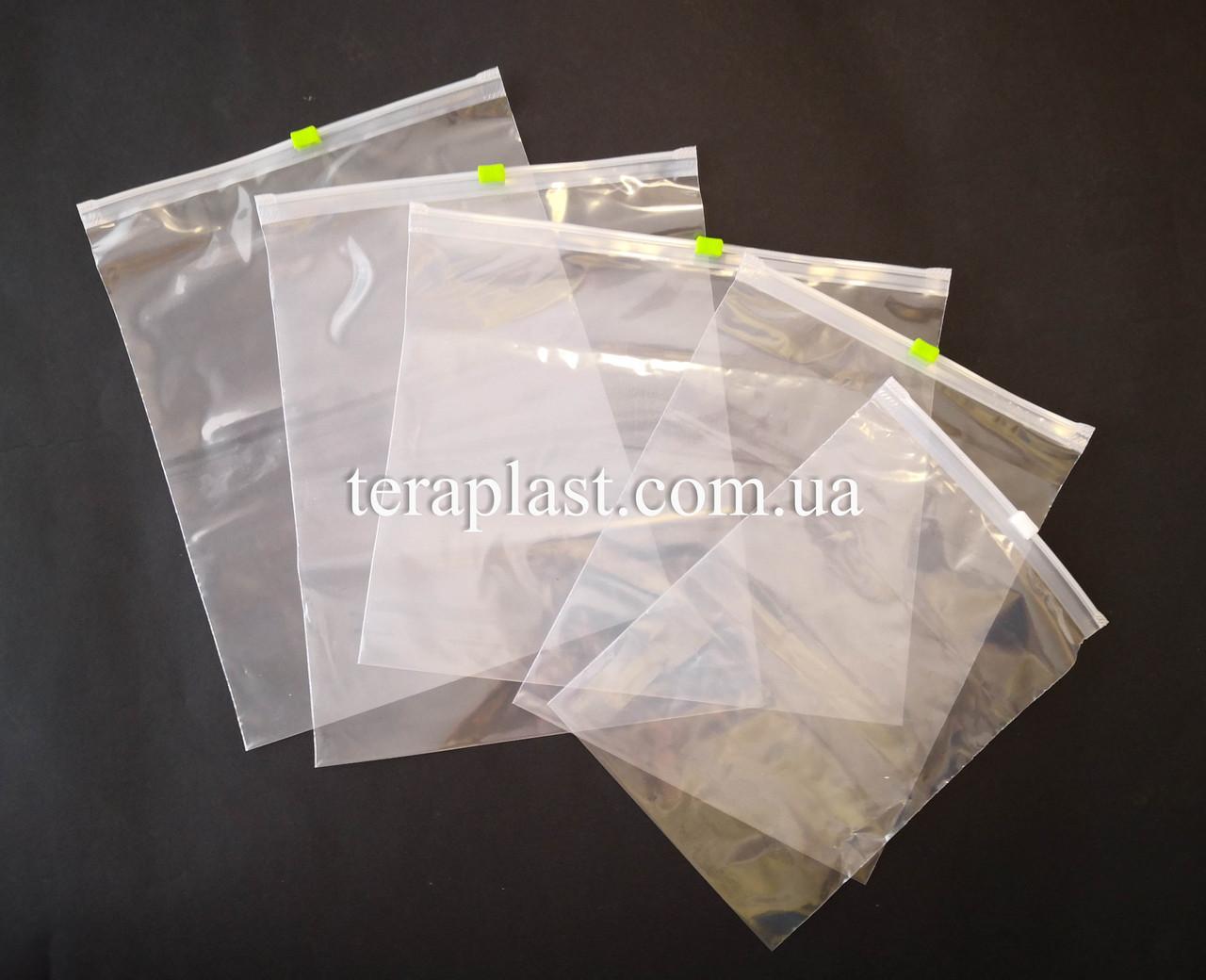 Пакеты с замком слайдеры 220х300 (50шт) 50мкм