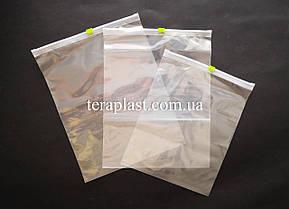 Пакеты с замком слайдеры 220х300 (50шт) 50мкм, фото 2