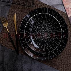 Керамическая тарелка. Модель RD-3-211