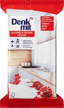 Влажные салфетки для уборки DENKMIT Granatapfel 50 шт
