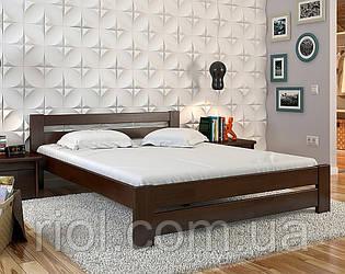 Ліжко дерев'яне двоспальне Симфонія