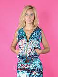 Костюм женский летний из атласной ткани, разм С,М,Л,ХЛ, фото 4