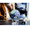 Гіро-глобус Solar Globe «Земля в хмарах» Ø 11,4 см (обертається від будь-якого джерела світла), фото 3