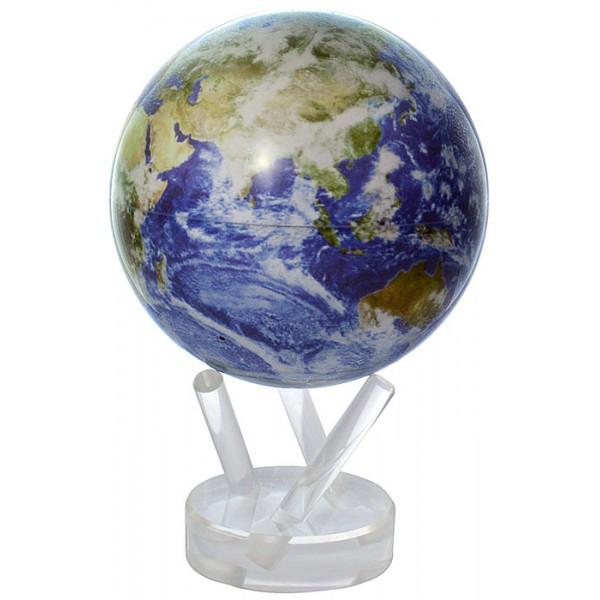 Гіро-глобус Solar Globe «Земля в хмарах» Ø 11,4 см (обертається від будь-якого джерела світла)